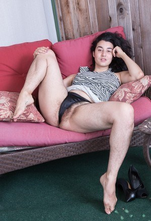 Clothed Hairy Pussy