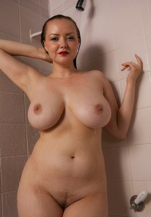 Hairy Pussy In Shower