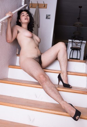 With legs hairy women naked