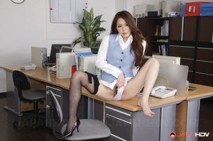 Hairy Pussy Office